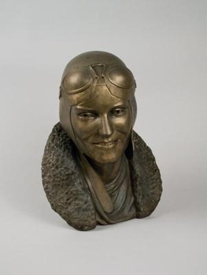 Bust [Jean Batten]; Marshall Watt; 1989; 2003.496
