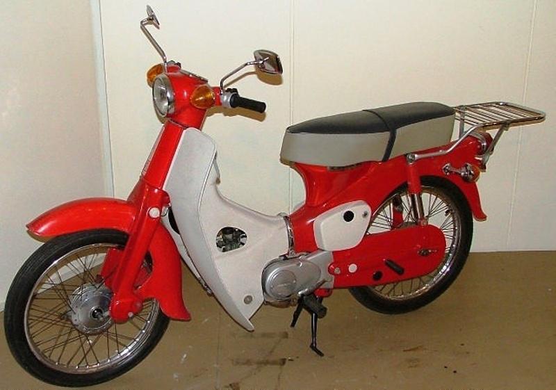 Motorcycle Honda 50 Scooter Motor Company Ltd Japan Estab 1948 197