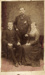Photograph of two men and a woman; Chas Spence; 13-1110