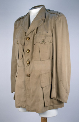 Uniform Jacket [Army Dress]; 1945-1955; 2014.25
