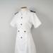 Uniform Dress and Belt [Tasman Empire Airways Limited]; Tasman Empire Airways Limited (New Zealand, estab. 1940, closed 1965); Zenski (New Zealand); 1950-1961; 2004.443