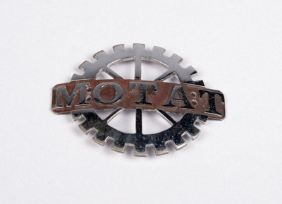 Badge [MOTAT, Wheel]; Jeep Halling; 2014.246