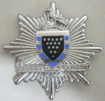 Hat Badge [Cornwall Fire Brigade]; 1982.67.3