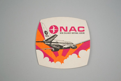 Coaster [National Airways Corporation]; National Airways Corporation (New Zealand, estab. 1947, closed 1978); 2016.183.2