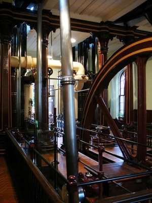 Beam Engine; John Key and Son; 1877; 1964.1