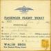 Passenger flight ticket; 1922; 04/077/184