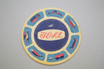 Coaster [Teal]; Tasman Empire Airways Limited (New Zealand, estab. 1940, closed 1965); 2002.82.9