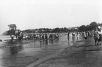 New Zealand Flying School, Avro 504K at Takapuna Beach; Unidentified; 10-0998
