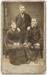 Photograph of two men and a woman; Unidentified; 13-1128