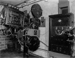 Motion picture projection room; J G McGuire; 1930s; 13-2270