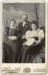 Photograph of two women and a man; Unidentified; 13-1124
