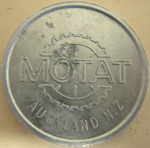 Commemorative Coin [MOTAT, Auckland, NZ]; MOTAT (New Zealand, estab. 1961); 2006.384