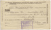 C.K. Mills Collection: Leave pass; Unknown; 07 October 1916; 14/004/008