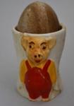 Soap [Egg and Egg Cup]; Keele Street Pottery Co. Ltd (England, estab. 1915, closed 1958?); 2015.128.5