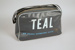 Travel Bag [Teal]; Tasman Empire Airways Limited (New Zealand, estab. 1940, closed 1965); 2004.469