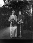 Wedding portrait; Unidentified; 1930s; 13-2254