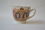 Souvenir Teacup [Coronation of King George VI and Queen Elizabeth May 1937]; 1937; 1984.32.1