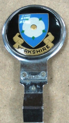 Automotive Badge [Yorkshire]; 1978.139