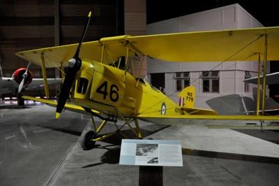 Aircraft [de Havilland DH82A Tiger Moth ('NZ775')]; The de Havilland Aircraft Company Limited (England, estab. 1920, closed 1964); 1940; 1982.740