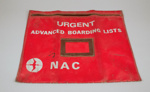 Boarding List Folder [NAC]; National Airways Corporation (New Zealand, estab. 1947, closed 1978); 2007.101