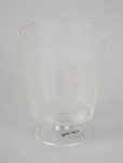 Wine Glass [NAC]; A.H.L. Plastic Products Moulding Co.; National Airways Corporation (New Zealand, estab. 1947, closed 1978); 2016.149.4