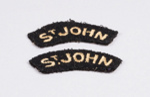 Uniform Patches [St. Johns Ambulance]; St Johns Ambulance; 1981.92.14