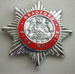 Hat Badge [Bradford Fire Brigade]; 1982.53.51