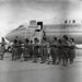 Air New Zealand DC8 at the opening of Mangere; Whites Aviation Limited; 24 Nov 1965; 14-6049