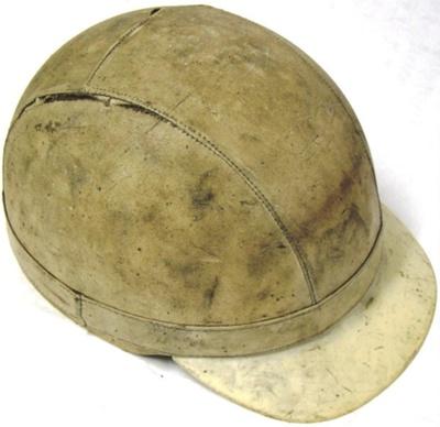 Helmet [Motorcycle]; Puch Werke AG (Austria, estab. 1889, closed 1943); Circa 1950s; 2006.316.2
