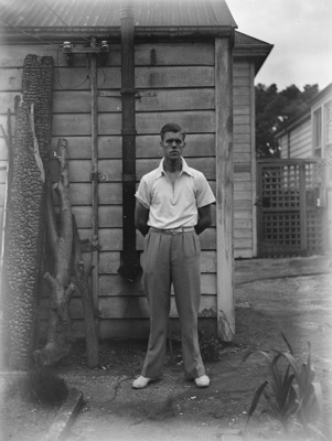 A young man; Unidentified; 1930s; 13-2009