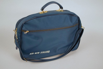 Airline Bag [Air New Zealand]; Air New Zealand Limited (New Zealand, estab. 1965); 1960s; 2013.30