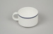 Teacup [Air New Zealand]; Royal Doulton (England, estab. 1815); Ansett New Zealand (estab. 1987, closed 2001); 2016.59.3