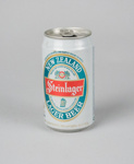 Drink Can [Steinlager Beer Can]; Air New Zealand Limited (New Zealand, estab. 1965); New Zealand Breweries Limited; 1990; 2016.188