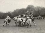 [Unidentified rugby scrum]; Unknown Photographer; Unknown; 14-0890