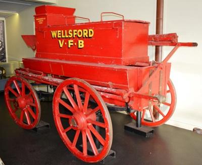 Fire Engine [Shand Mason Horse-drawn Manual Pump]; Shand Mason and Company (England, estab. 1774); 1869; 1964.38