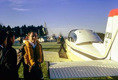 Cliff Tait round-the-world flight in Airtourer ZK-CXU