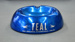 Ashtray [Teal]; Tasman Empire Airways Limited (New Zealand, estab. 1940, closed 1965), S.O.C.T.A.L. (Italy); 2012.695