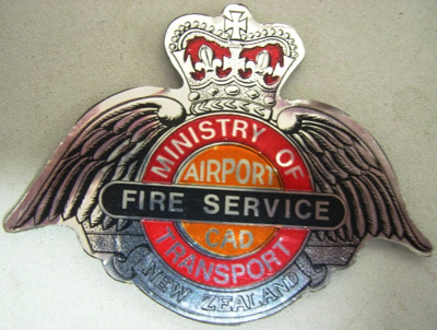 Badge [Ministry of Transport Civil Aviation Division]; 1982.53.30