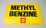 Advertising Sign [Methyl Benzine]; Shell Oil (New Zealand) Limited (estab. 1959); 2016.119.2