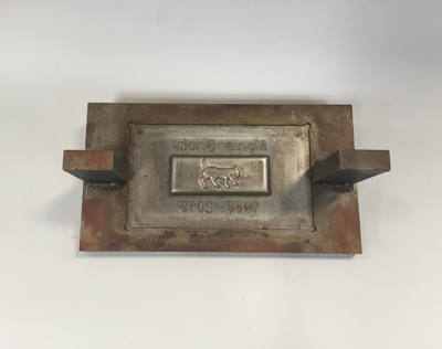 Commemorative Brick Mold [Monier Bricks]; Monier Bricks (estab. 1989, closed 2015); 2015; 2015.130.9