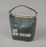 Airline Bag [Air New Zealand]; Air New Zealand Limited (New Zealand, estab. 1965); 1967; 2001.91