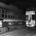 Last tram, no. 189, to Onehunga on 28 December 1956 having just cleared the Grand Union at Customs and Queen Streets; Graham C. Stewart (b.1932); 06-1010