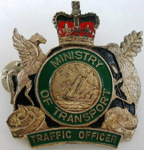 Badge [Ministry of Transport Traffic Officer]; 2006.374