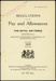 Booklet: Regulations for the pay and allowances of the Royal Air Force (Provisional) 1918; Great Britain. Royal Air Force; 1918; 04/071/111