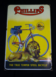 Advertising Sign [Phillips Bicycles]; Phillips Cycles (England, estab. 1880s); 2015.147