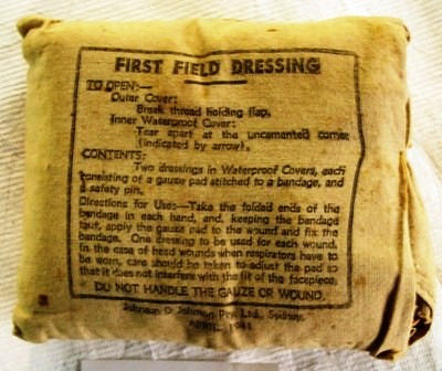 First Aid Dressing; Johnson and Johnson Private Limited; Apr 1941; 2004.75
