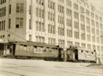 Trams  Auckland,  Farmers free tram; Graham C. Stewart (b.1932); 14-0139