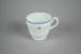 Teacup [Teal]; Wedgwood (England, estab. 1759), Tasman Empire Airways Limited (New Zealand, estab. 1940, closed 1965); 2004.363