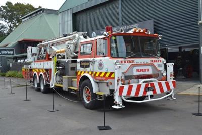 Fire Engine [Mack Aerialscope]; Mack Trucks, Inc (estab. 1900); 1981; 2013.265