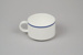 Teacup [Air New Zealand]; Royal Doulton (England, estab. 1815); Ansett New Zealand (estab. 1987, closed 2001); 2016.59.1